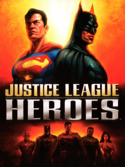 Justice League Heroes Display Picture