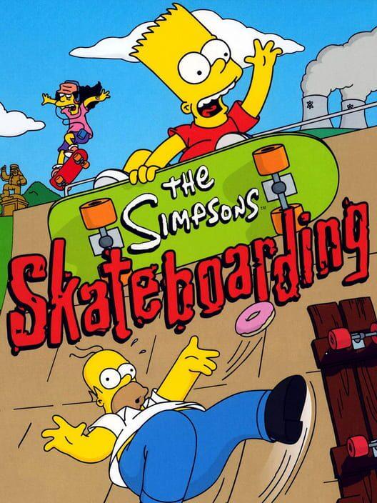 The Simpsons Skateboarding image