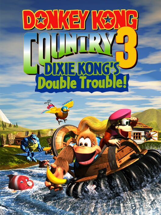 Donkey Kong Country 3: Dixie Kong's Double Trouble! image
