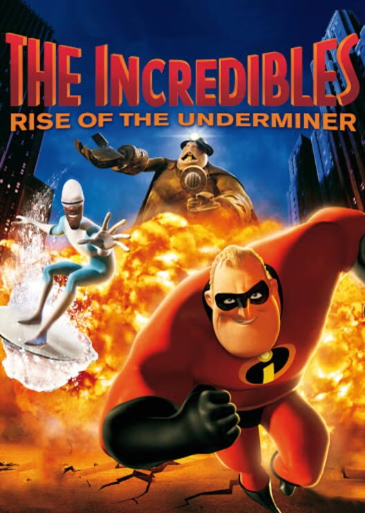 The Incredibles: Rise of the Underminer Display Picture