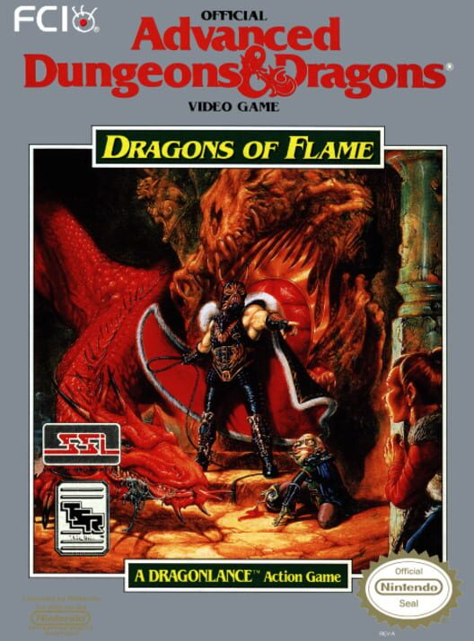 Advanced Dungeons & Dragons: Dragons of flame image