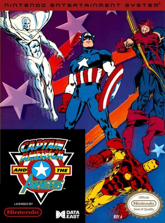 Captain America and The Avengers Display Picture