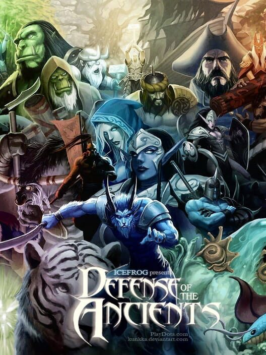 Games Like Defense Of The Ancients