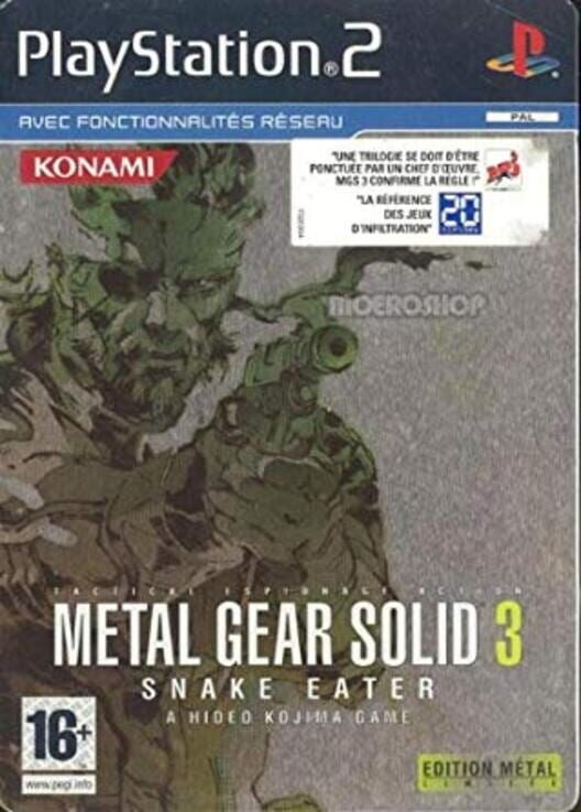 Metal Gear Solid 3: Limited Metal Edition image