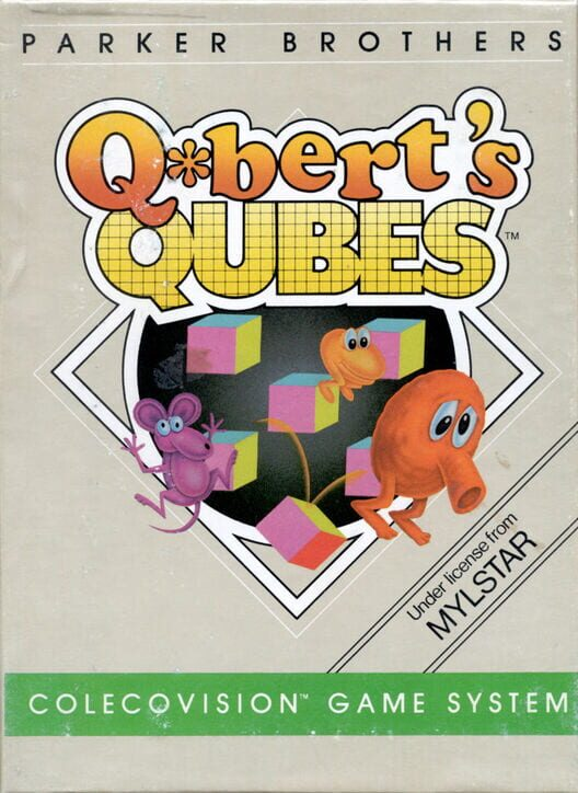 Q*bert's Qubes Display Picture