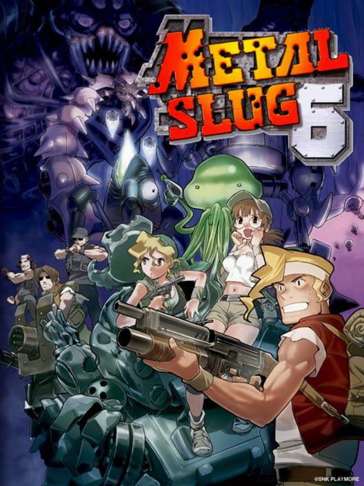 Metal Slug 6 Display Picture