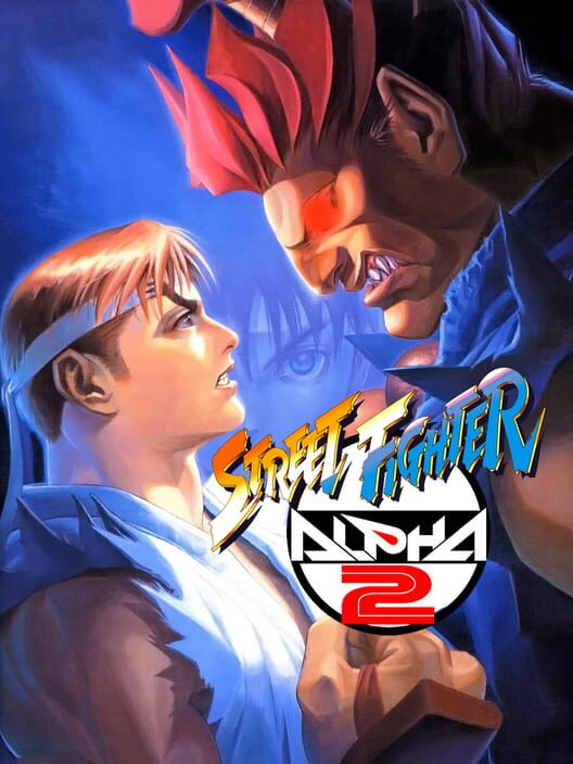 street fighter alpha 2 logo