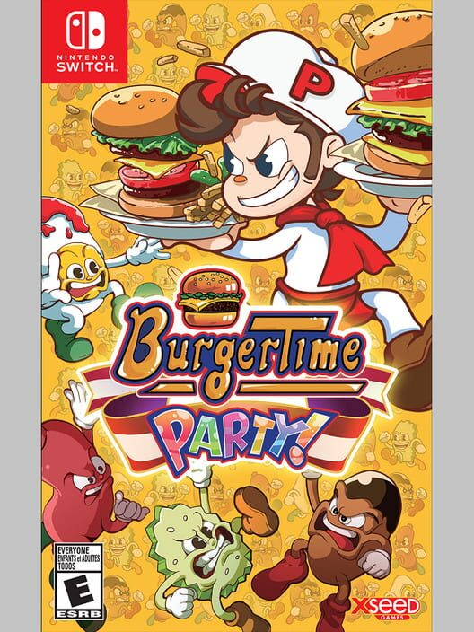 BurgerTime Party! image