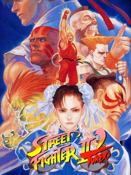 Street Fighter II Turbo Display Picture