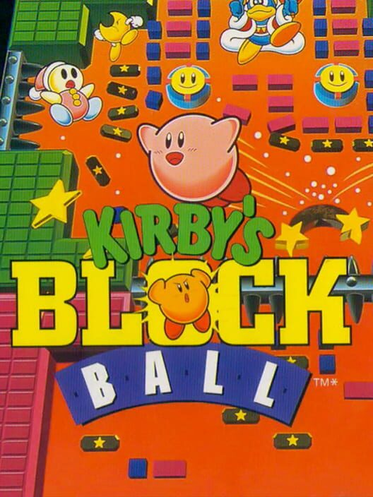 Kirby's Block Ball image