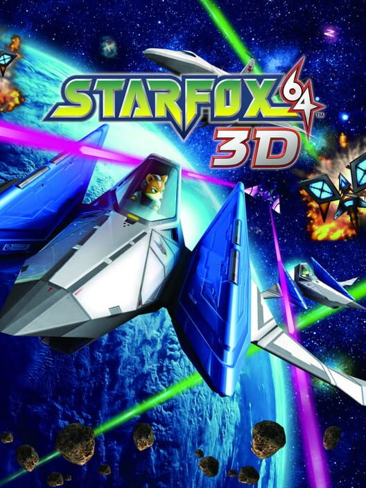Star Fox 64 3D Display Picture