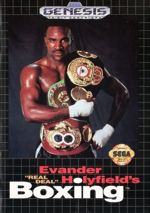 Evander Holyfield Boxing Display Picture