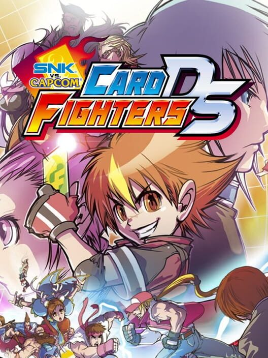 SNK vs Capcom Card Fighters DS Display Picture