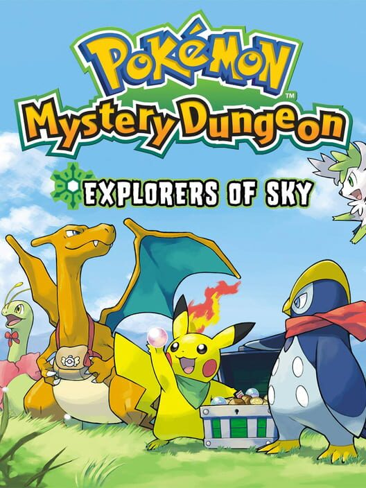 Pokémon Mystery Dungeon: Explorers of Sky Display Picture