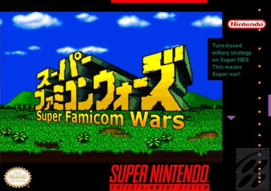 Super Famicom Wars Display Picture