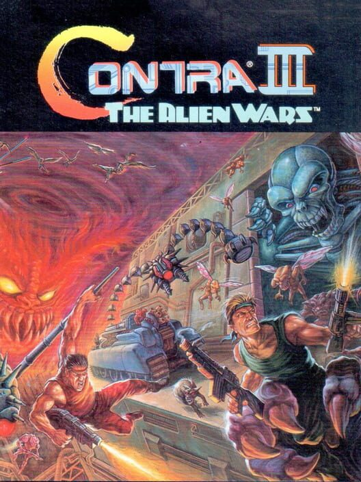 Contra III: The Alien Wars image