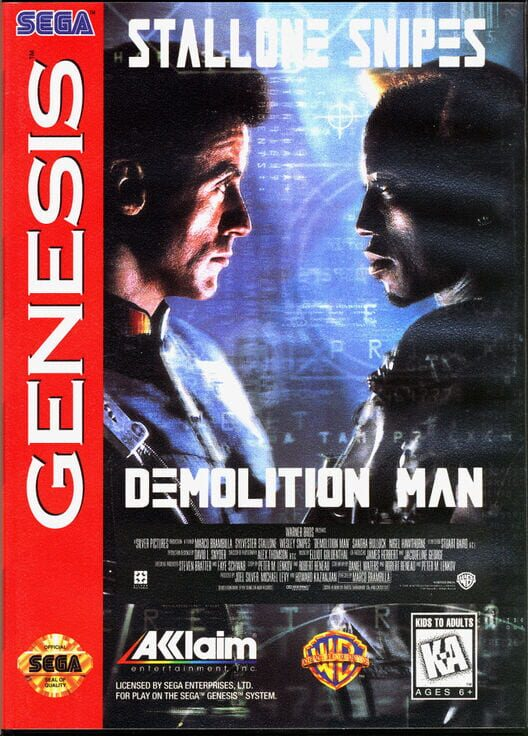 Demolition Man Display Picture