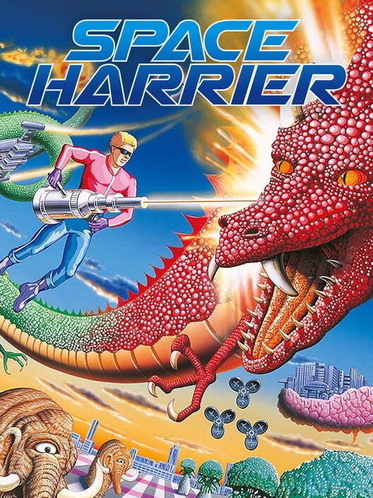 Space Harrier Display Picture