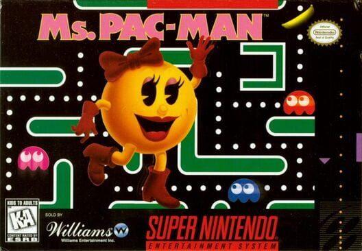 Ms. Pac-Man (SNES) image