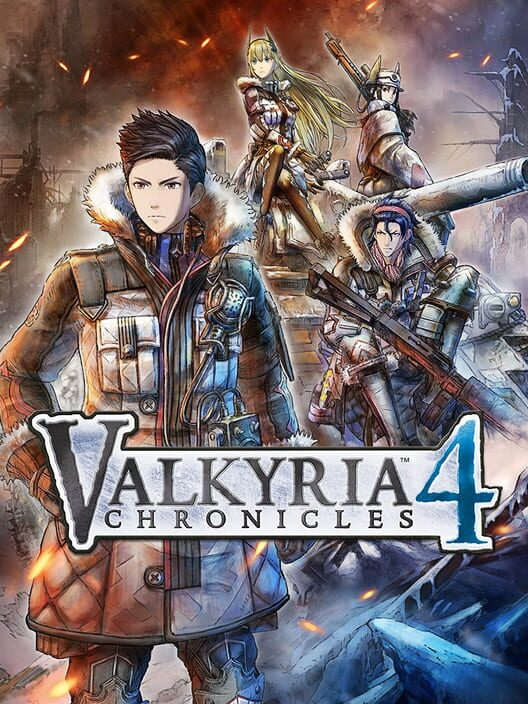 Valkyria Chronicles 4 Display Picture