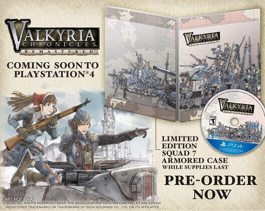 Valkyria Chronicles Remastered Steelbook Edition image