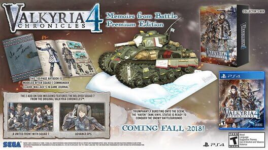 Valkyria Chronicles 4: Memoirs From Battle Edition image