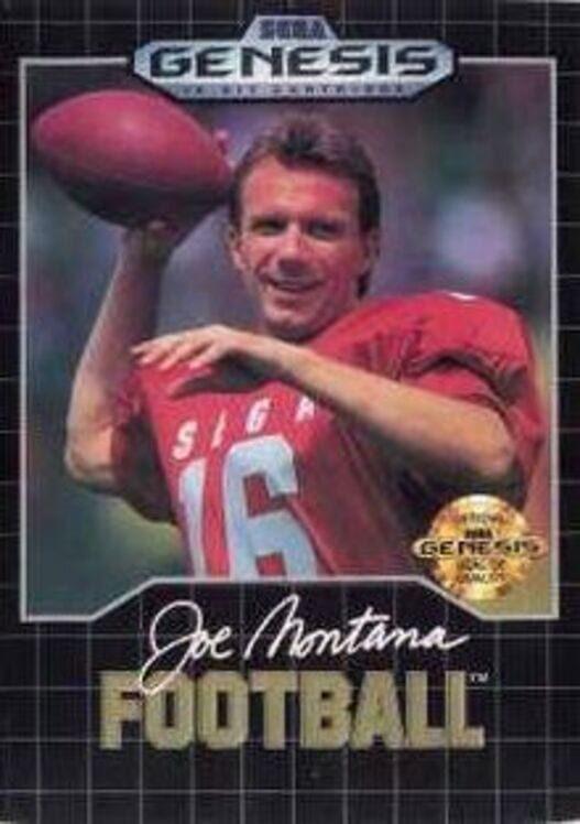 Joe Montana Football Display Picture