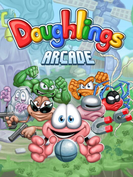 Doughlings: Arcade Display Picture