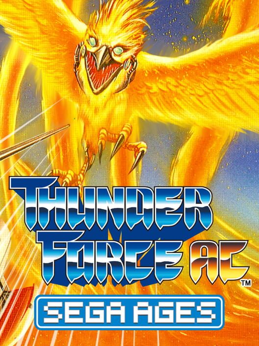 SEGA AGES THUNDER FORCE AC Display Picture