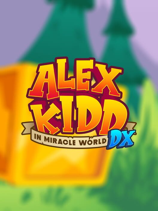 Alex Kidd in Miracle World DX Display Picture