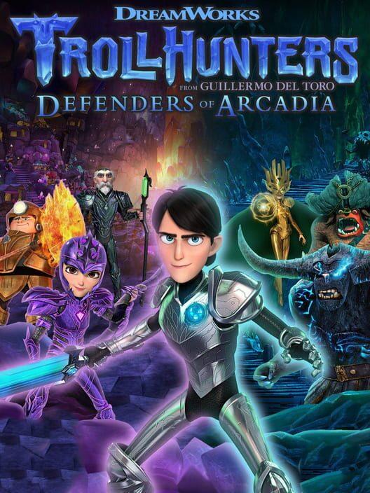 Trollhunters Defenders of Arcadia Display Picture