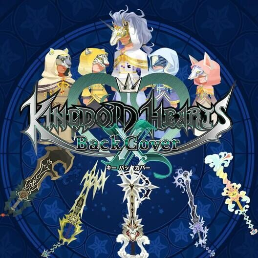 Kingdom Hearts χ Back Cover image