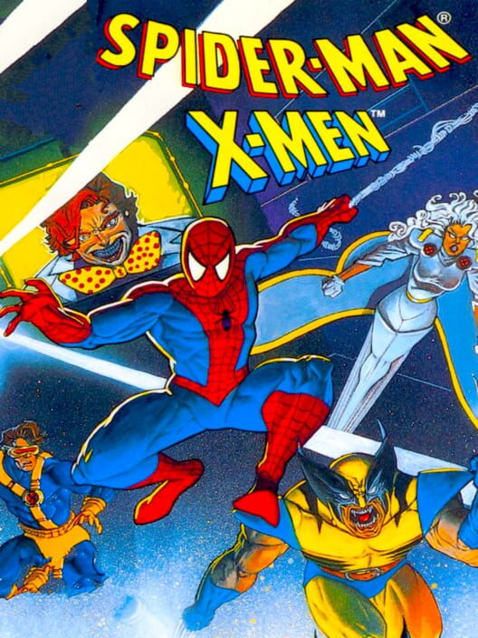 Spider-Man and the X-Men in Arcade's Revenge image