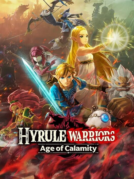 Cover for the game Hyrule Warriors: Age Of Calamity