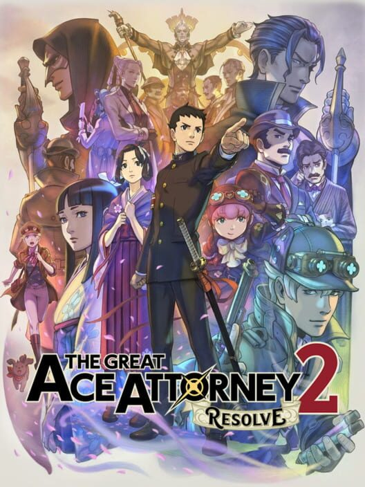 The Great Ace Attorney 2: Resolve image