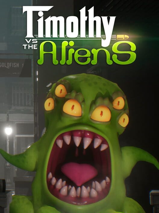 Timothy vs the Aliens Display Picture