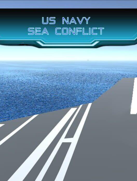 US Navy Sea Conflict image