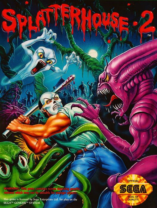 Splatterhouse 2 image