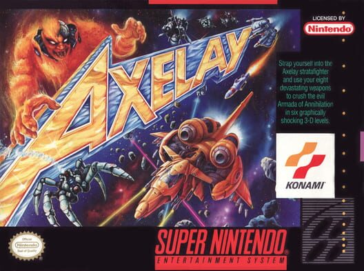 Axelay Display Picture