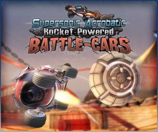 Supersonic Acrobatic Rocket-Powered Battle-Cars image