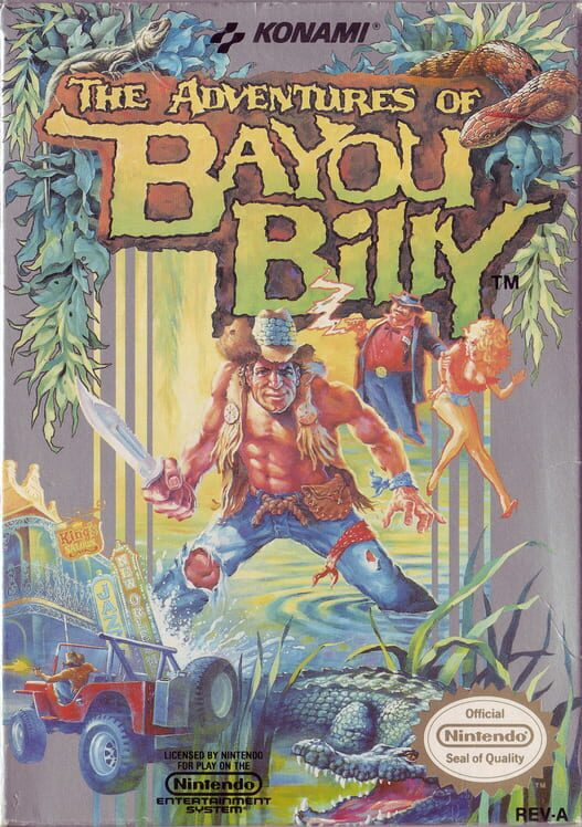 The Adventures of Bayou Billy image