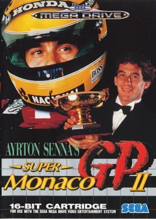 Ayrton Senna's Super Monaco GP II Display Picture