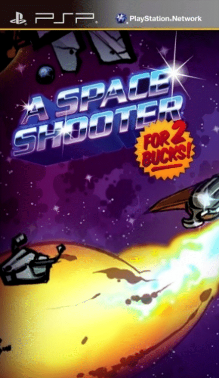 A Space Shooter for 2 Bucks! for PlayStation Portable