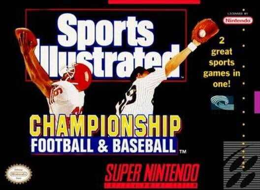 Sports Illustrated Championship Football & Baseball Display Picture