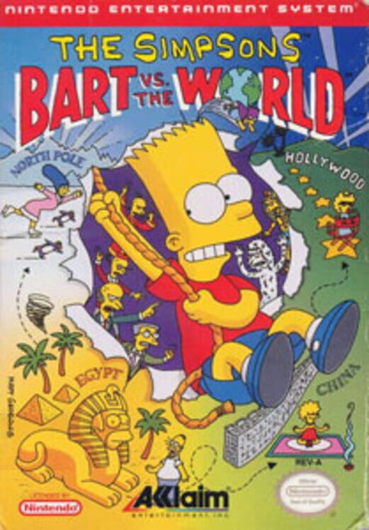 The Simpsons: Bart vs. the World image