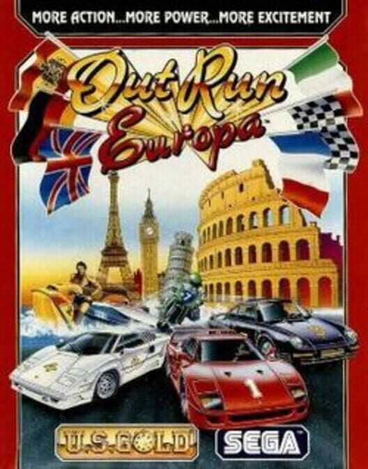 Out Run Europa Display Picture