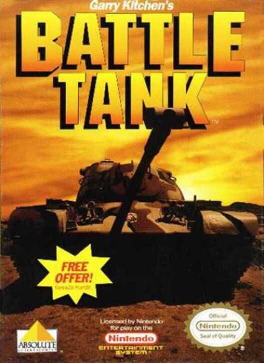 Garry Kitchen's Battletank Display Picture