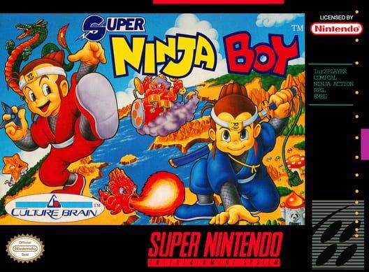 Super Ninja Boy Display Picture