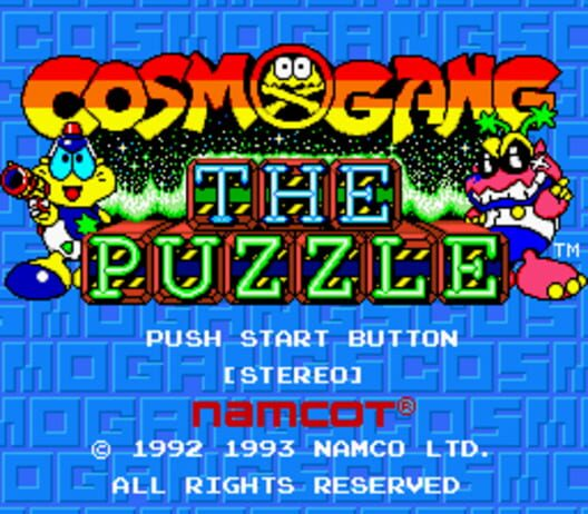 Cosmo Gang the Puzzle Display Picture