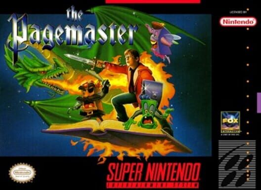 The Pagemaster Display Picture